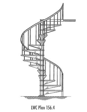 Steel Spiral Staircases Monmouthshire
